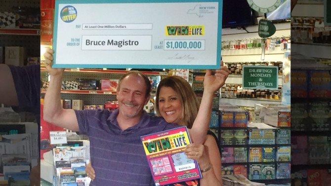 Father wins lottery jackpot a second time