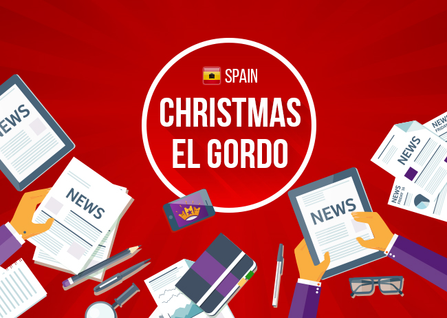 The Christmas El Gordo Raffle is here!