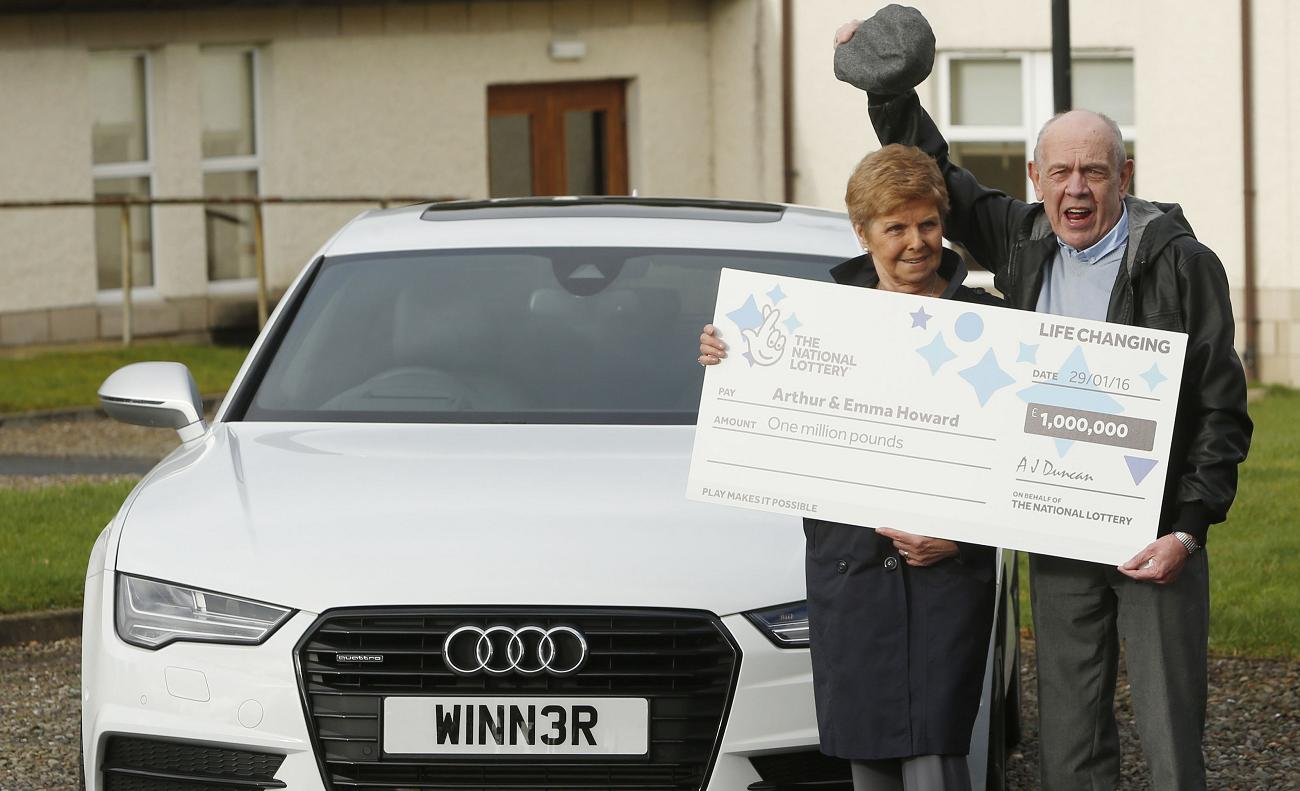 UK lottery winner was a cab driver and used his millions to buy a new Audi