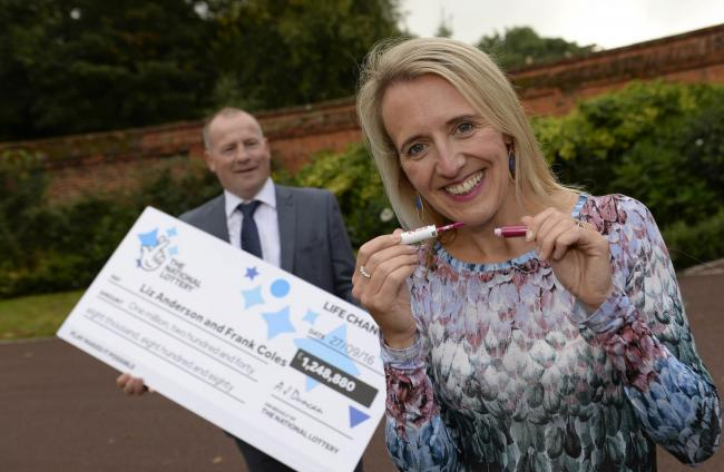 EuroMillions prize winner buys lipstick to celebrate