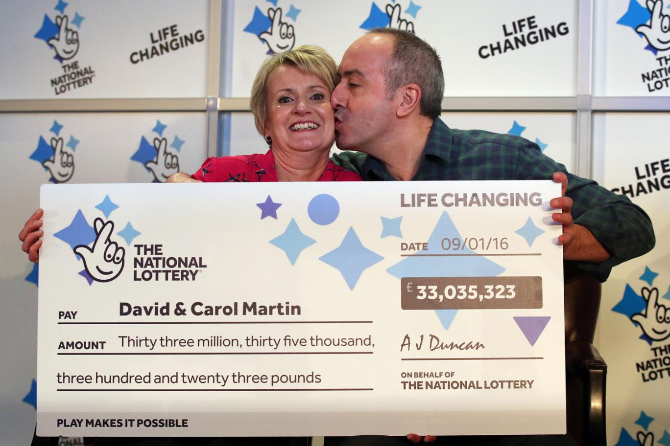 UK couple who won £33 million to reunite long-lost family