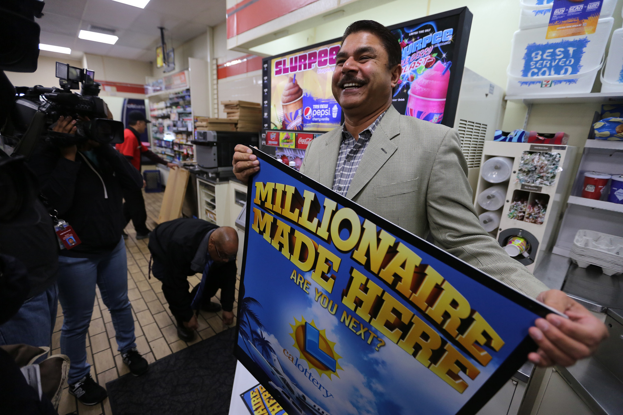 Powerball Jackpot Winners come forward