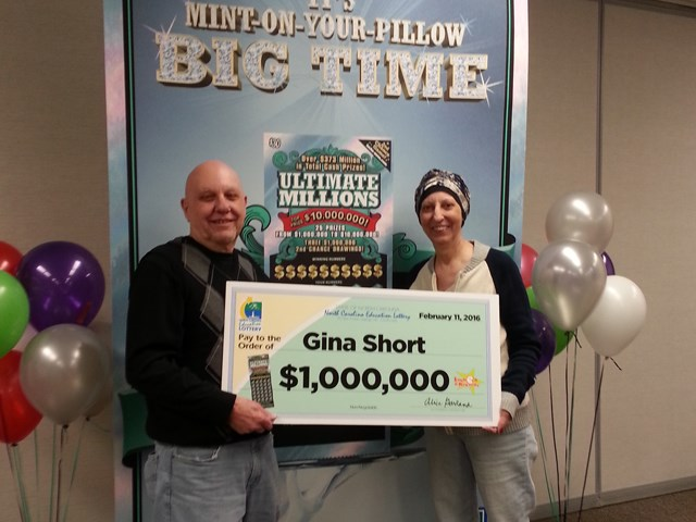 Second chance for lottery winner with breast cancer